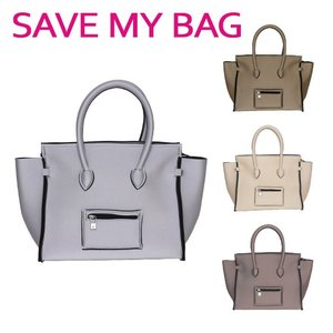 SAVE MY BAG セーブマイバッグ PORTOFINO ポルトフィーノ Mサイズ ハンドバッグ 2129N METALLICS(メタリック) 選べるカラー daily-3