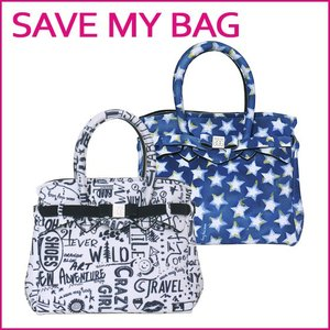 SAVE MY BAG セーブマイバッグ プチ ミス ハンドバッグ 10104N PRINTED LOVE WORDS(ラブ ワーズ)|daily-3
