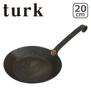 ターク 鉄製フライパン クラシック 20cm 65520 turk Classic Frying p...