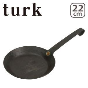 ターク 鉄製フライパン クラシック 22cm 65522 turk Classic Frying p...