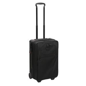TUMI  ALPHA2 22020 TSAロック付き インターナショナル・エクスパンダブル・2ウィール・キャリーオン ブラック