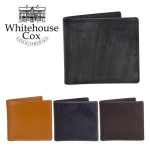ホワイトハウスコックス 二つ折り財布小銭入れ付 #S7532 NEWTON  WHITEHOUSE COX|daily-3