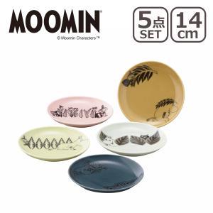 MOOMIN(ムーミン)ムーミン MM2400 ファイブプレートセット(14cmプレートx5)|daily-3