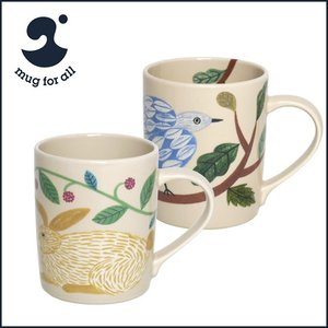 mug for all 松尾ミユキ ペアマグセット (ラビット+バード)MUG WITH FRIENDS|daily-3