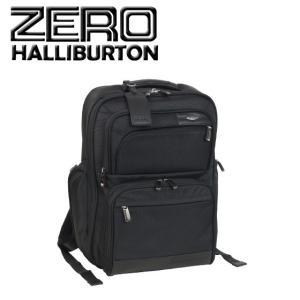 ゼロハリバートン Profile Deluxe Business Backpack バックパック ブラック|daily-3