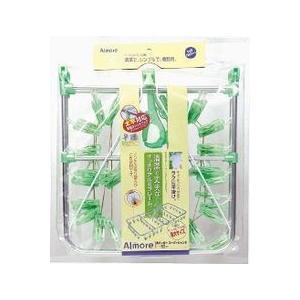 オーエ アルモア スーパージャンボハンガー ピンチ50個付き グリーン|daily-goods-shop