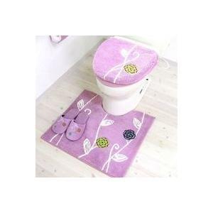 北欧風デザインでリラックスなトイレ空間に オカ エトフ トイレ用品5点セット ピンク|daily-goods-shop