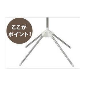 天馬 ポーリッシュ スタンド式物干しパラソル型3段 PS−10K 組立式|daily-goods-shop|06