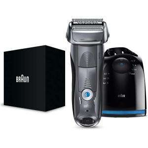 ブラウン シリーズ7 メンズ電気シェーバー 7867cc 4カットシステム 洗浄器付 水洗い/お風呂...
