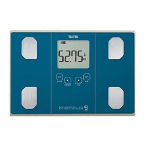 タニタ 体重・体組成計 インナースキャン50 メタリックブルー BC-314-BL|dailystep