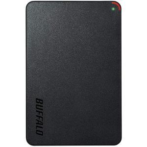 BUFFALO ミニステーション USB3.1(Gen1)/USB3.0用ポータブルHDD 2TB HD-PCFS2.0U3-BBA|dailystep