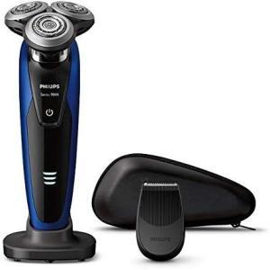 フィリップス 9000シリーズ メンズ 電気シェーバー 72枚刃 回転式 お風呂剃り & 丸洗い可 ...