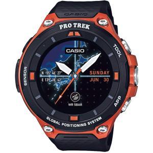カシオ 腕時計 スマートアウトドアウォッチ プロトレックスマート GPS搭載 WSD-F20-RG|dailystep