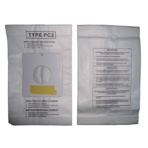 25 Sharp Canister Type PC-2 Vacuum Cleaner Allergy Bags, EC-10PC2, daim-store