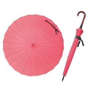 【業界初! 】 mabu 24本骨ジャンプ傘 フラミンゴ MBU-24J04|daim-store