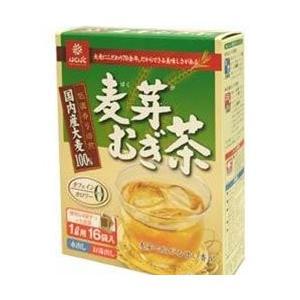 はくばく 麦芽むぎ茶8g(16袋)×4個の商品画像|ナビ