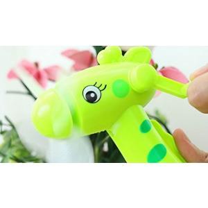 ポータブルミニファンハンド扇風機加湿おかしい子供のおもちゃス...