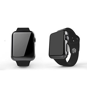 Apple Watch ケース Sakula フルカバー 高品質PC メーキ加工 耐衝撃性 脱着簡単 アップルウォッチ カバー 42mm (グレー)|daim-store