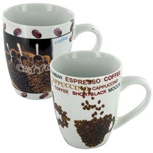 Servingコーヒーや他のホット飲料水、このコーヒー豆の名セラミックマグカップの特徴は、コーヒー豆...