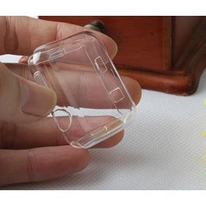 [LivelyLife]Apple Watch Series 2 ケース フィルム+ケース 一体化設計 フルカバー 液晶画面保護 高品質TPU製