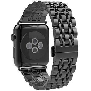 Apple Watch用交換バンドメタルクラスプ付き、交換38*mm Apple Watchバンドを...