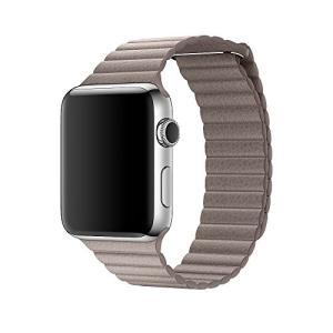 Apple Watch本体は付属しません。このバンドで使われるベネチアレザーは、イタリアのアルツィニ...