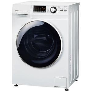 アクア 8.0kg ドラム式洗濯機【左開き】ホワイトAQUA Hot Water Washing(乾燥機能なし) AQW-FV800E-W|daim-store