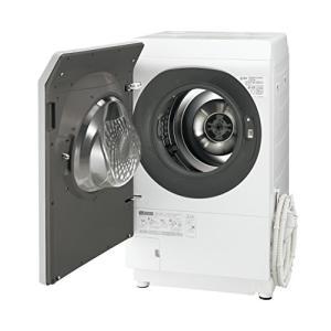 シャープ ドラム式洗濯乾燥機 11kg ミラーシルバー系 ES-P110-SL|daim-store