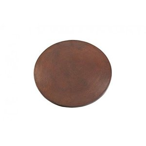 Premier Copper Products TTR30DB 30 in. Round Hammered Copper Table Top|daim-store