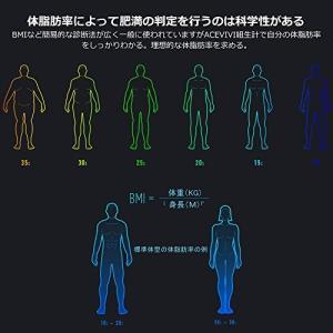 ACEVIVI 高精度 体脂肪計*体組成計*体重計【13種類...