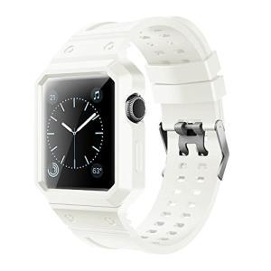 For apple watch バンド,ケース付きの一体式 アップルウォッチバンド  apple watch series 3 apple|daim-store