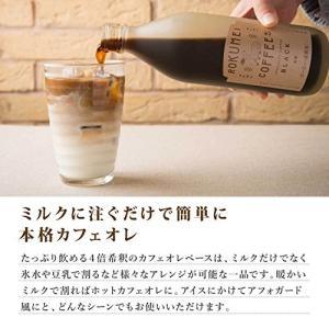 ロクメイコーヒー カフェベース 500ml (約13杯分) 1本素材にこだわった日本一高級なカフェベ...