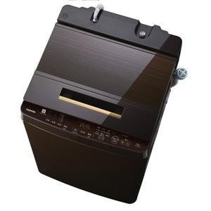 東芝 10.0kg 全自動洗濯機 グレインブラウンTOSHIBA ZABOON AW-10SD7-T|daim-store