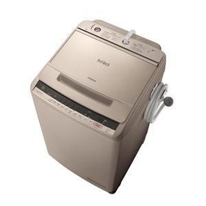 日立 10.0kg 全自動洗濯機 シャンパンHITACHI ビートウォッシュ BW-V100C-N|daim-store
