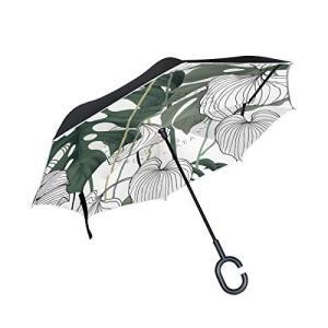 【逆転デザイン】逆折設計を採用するので、濡れた面が傘を閉じると内側に。濡れた状態で閉じても衣服などが...