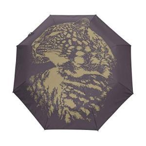 Nigbin Art フラワー バタフライ 傘 自動開閉 旅行 日よけ 防風 傘 レディース メンズ 42.5 Inches canopy ブラック|daim-store