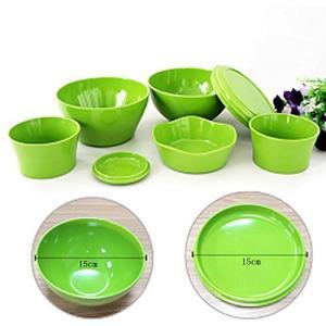 一人暮らしに便利,色んな料理に使いやすい。セット内容:飯碗各2個,小鉢各2個,ラウンドプレート,フル...