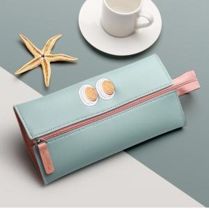ペンケース かわいい筆箱 韓国で人気の文房具 ペンバッグポーチ エスコラー 学用品 大容量スクオラ ...