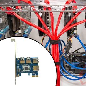 PCIE USB 3.0スロット・マルチプライヤー・ハブ・アダプター PCI Express ライザ...