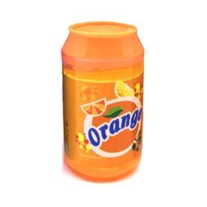 クリスタルスライム Diy モデリング 粘土 バブル ふわふわ 粘土 おもちゃ 透明 ギフト  Orange daimachi