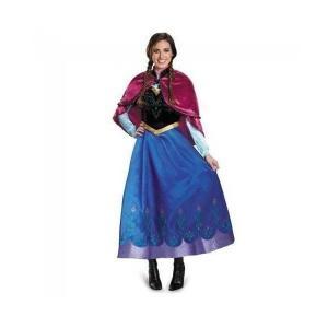 アナと雪の女王 アナ チロリンアン ケープ付 ドレス コスチューム コスプレ 大人用 Mサイズ
