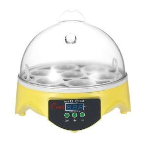 ミニ デジタル 孵卵機 ふ卵器 孵化器 自動温度制御 ふか チキンダックバード卵