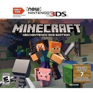 マインクラフト ソフト NEW NINTENDO 3DS EDITION 北米版 MINECRAFT