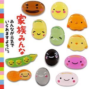 健康祈願お守り 『豆まもり』 全12種入り 【ゆうパケット可能】 |daiomfg