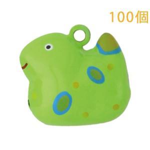 干支モチーフ 干支鈴 十二支 巳 へび 全身タイプ 100個入り (本体のみ)|daiomfg