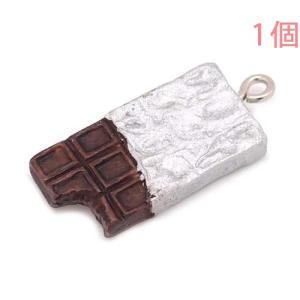食品サンプルマスコットチャーム スイーツ 板チョコ (ヒートンのみ)【ゆうパケット可能】|daiomfg