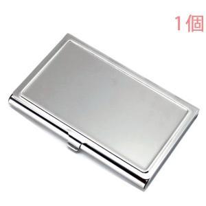 カードケース SUS ステンレス製 シルバー (ツヤ磨き仕上げ) 1個入り【ゆうパケット可能】|daiomfg