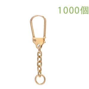 キーホルダー 馬蹄型キーチェーン 333 1000個入り (ゴールド)|daiomfg