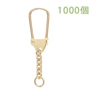 キーホルダー 馬蹄型キーチェーン 444 1000個入り (ゴールド)|daiomfg
