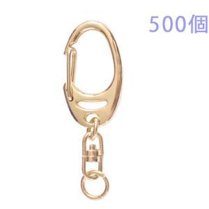 キーホルダー ワンタッチキーチェーン 777 500個入り (ゴールド) daiomfg